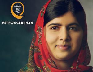 Jour de Malala 2014 – Même une balle n'a pas réussi à la faire taire