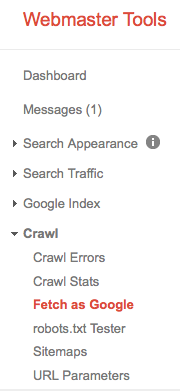 Crawl and Fetch as Google